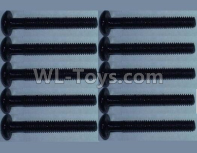 Wltoys 10428-B2 head inner hexagon Screws-2.5X16(10PCS)-10428-B.0321,Wltoys 10428-B2 Parts