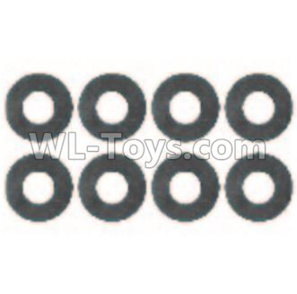 Wltoys 10428-B2 Flat Washer(8pcs)-6x9.5x1.5mm-0323,Wltoys 10428-B2 Parts