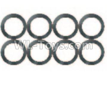 Wltoys 10428-B2 Flat Washer(8pcs)-10x14x0.5mm-0324,Wltoys 10428-B2 Parts