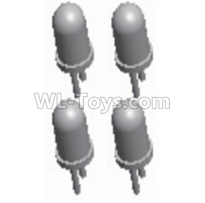 Wltoys 10428-B2 5mm White Light(4pcs)-0122,Wltoys 10428-B2 Parts