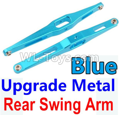 Wltoys 10428-B2 Upgrade Metal Rear Swing Arm-Blue-2pcs-K949-29,Wltoys 10428-B2 Parts
