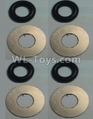 Wltoys 10428-B2 Flat Washer(Total 4set,8pcs)-10428-2.0584,Wltoys 10428-B2 Parts