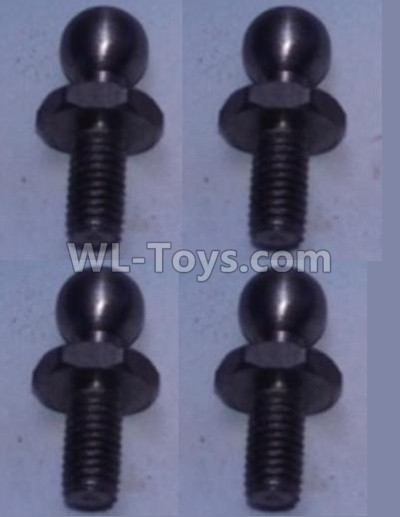 Wltoys 10428-B2 4.8 Ball head shape screws(4pcs)-K949-73,Wltoys 10428-B2 Parts