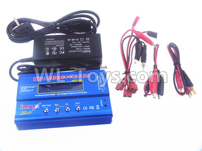 Wltoys 10428-B2 Upgrade B6 Balance charger and Power Charger unit(Can charger 2S 7.4v or 3S 11.1V Battery),Wltoys 10428-B2 Parts