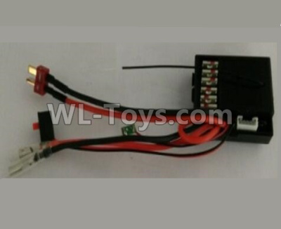 Wltoys 10428-B2 2.4G Receiver board Parts,Circuit board-10428-2.0474,Wltoys 10428-B2 Parts