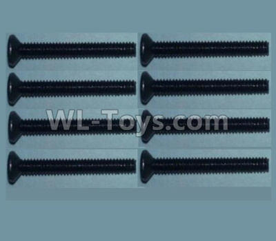 Wltoys 10428-B2 Flat head inner hexagon Screws-M2X16-(8pcs),Wltoys 10428-B2 Parts