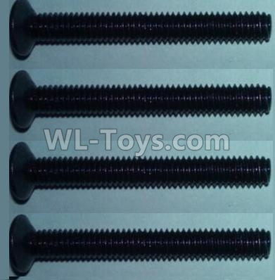 Wltoys 10428-B2 Flat head inner hexagon Screws-M4X32-(4pcs),Wltoys 10428-B2 Parts