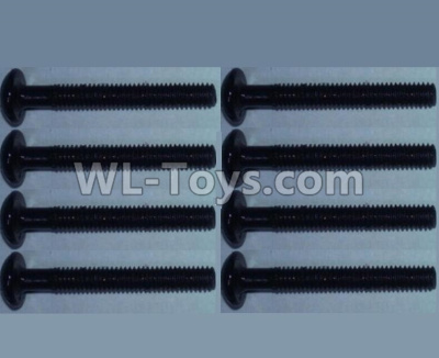Wltoys 10428-B2 Pan head inner hexagon Screws-M2.5X20-(8pcs),Wltoys 10428-B2 Parts