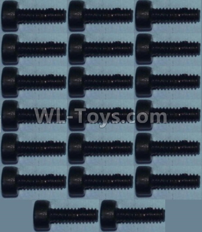 Wltoys 10428-B2 Cup head inner hexagon Screws M2X6-(20pcs),Wltoys 10428-B2 Parts