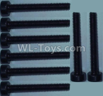 Wltoys 10428-B2 Cup head inner hexagon Screws-M2X16-(8pcs),Wltoys 10428-B2 Parts
