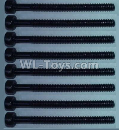 Wltoys 10428-B2 Cup head inner hexagon Screws-M2X24(8pcs),Wltoys 10428-B2 Parts