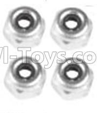 Wltoys 10428-B A929-94 M4 Locknut(4PCS),Wltoys 10428-B Rc Car Parts,High speed 1:10 Scale 4wd,10428-B Electric Power On Road Drift RacinAg Truck Car Parts