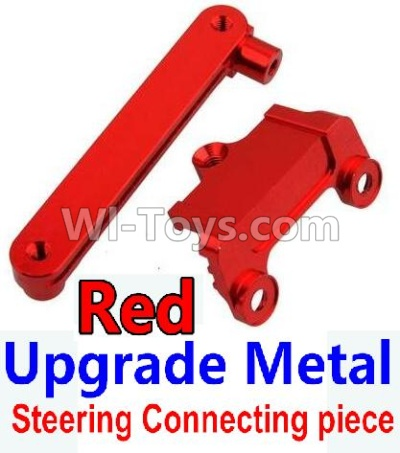 Wltoys 10428-B Upgrade Metal Steering connecting piece-Red,Wltoys 10428-B Parts