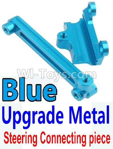 Wltoys 10428-B Upgrade Metal Steering connecting piece-Blue,Wltoys 10428-B Parts