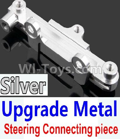Wltoys 10428-B Upgrade Metal Steering connecting piece-Silver,Wltoys 10428-B Parts