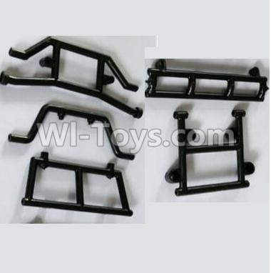 Wltoys 10428-B 0318 Front and Rear Anti-collision Fixed seat Parts,Wltoys 10428-B Parts
