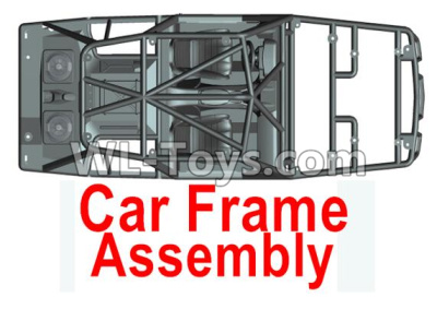 Wltoys 10428-D Upper Car bracket assembly-Include all Upper car frame-10428-D.0685,Wltoys 10428-D 1/10 Parts