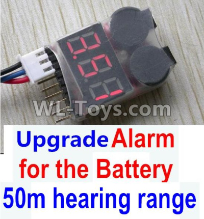 Wltoys 10428-D Upgrade Alarm for the Battery,Can test whether your battery has enouth power,Wltoys 10428-D 1/10 Parts