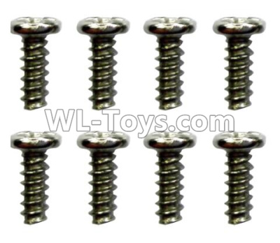Wltoys 10428-D ST2.3x4PB screws(8pcs)-18428-B.0554,Wltoys 10428-D 1/10 Parts