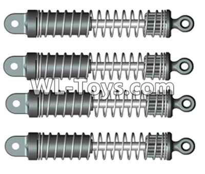 Wltoys 10428-E Shock absorbers(4pcs)-For front or Rear-10428-D.0697,Wltoys 10428-E 1/10 Parts