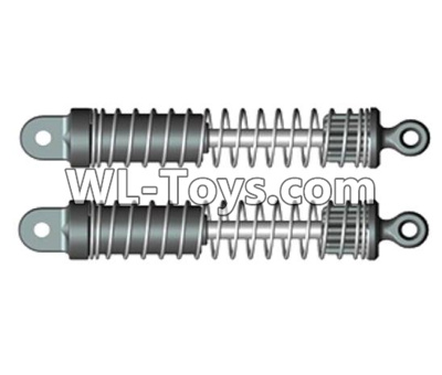 Wltoys 10428-E Shock absorbers(2pcs)-For front or Rear-10428-D.0697,Wltoys 10428-E 1/10 Parts