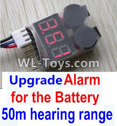 Wltoys 10428-E Upgrade Alarm for the Battery,Can test whether your battery has enouth power,Wltoys 10428-E 1/10 Parts