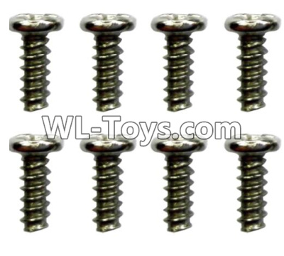 Wltoys 10428-E ST1.7x4PB screws(8pcs)-18428-B.0551,Wltoys 10428-E 1/10 Parts