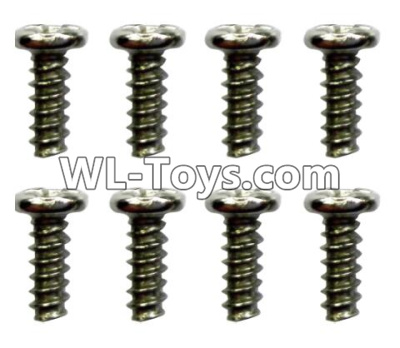 Wltoys 10428-E ST2.3x4PB screws(8pcs)-18428-B.0554,Wltoys 10428-E 1/10 Parts