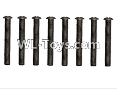 Wltoys 10428-E 2.5x20 Pan head screws(10pcs)-12428.0106,Wltoys 10428-E 1/10 Parts