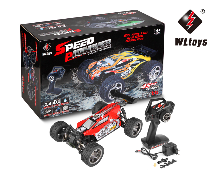 Wltoys 12401 RC Monster Truck Toy,1/12 1:12