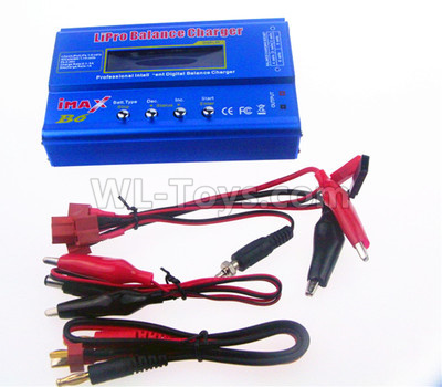 Wltoys 124012 Upgrade B6 Balance charger(Can charger 2S 7.4v or 3S 11.1V Battery),1/12 Wltoys 124012 Parts
