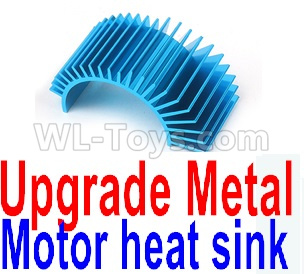 Wltoys 124012 Upgrade Metal Motor heat sink,1/12 Wltoys 124012 Parts