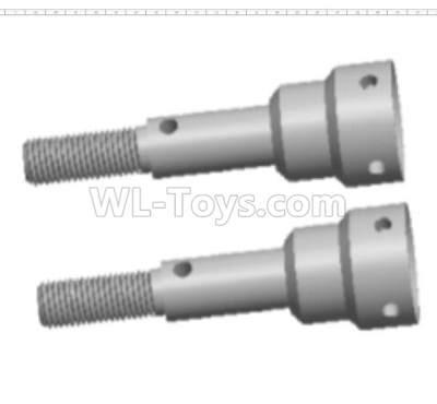 Wltoys 124012 Wheel shaft cup Parts(2pcs)-10X34.75-124011.0976,1/12 Wltoys 124012 Parts