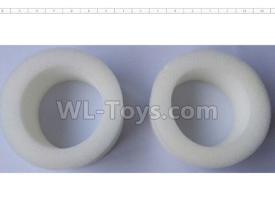 Wltoys 124012 EVA sponge wheel Parts(2pcs)-90X55X35-124011.0970,1/12 Wltoys 124012 Parts