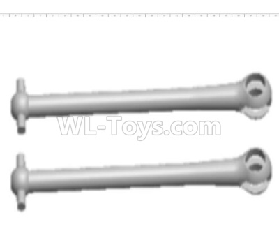 Wltoys 124012 Transmission shaft Parts,Dog Bone(2pcs)-6.8x48.7mm-124012.1204,1/12 Wltoys 124012 Parts