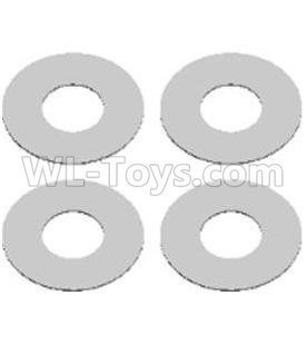 Wltoys 124012 Flat washers Parts(4PCS)-12X5.2X0.2mm-12428.0066,1/12 Wltoys 124012 Parts