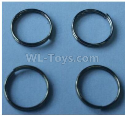 Wltoys 124012 Pressure spring Parts(4pcs)-0.6x9x2mm-124011.0981,1/12 Wltoys 124012 Parts