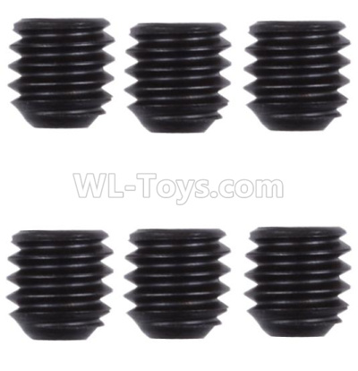 61 M4 Machine screws Parts(M4X4)-6pcs-12428.0128,1/12 Wltoys 124012 Parts