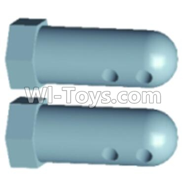 Wltoys 12402-0230 Front Column for the Car canopy Parts-(2pcs),Wltoys 12402 Parts