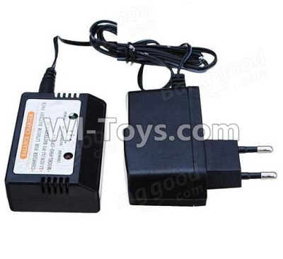 Wltoys 12402 charger and balance charger(Can charge 1 battery at the same time),Wltoys 12402 Parts