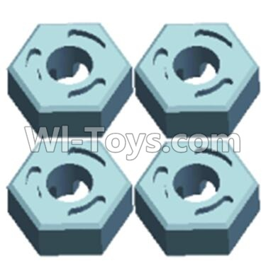 Wltoys 12404 0214 Hexagonal round seat Parts-(4pcs),Wltoys 12404 Parts