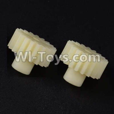 Wltoys 12404 0297 19T Motor gear(2pcs)-19 Teeth,Wltoys 12404 Parts