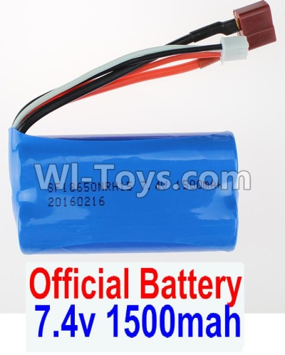 Wltoys 12404 Battery Parts-7.4V 1500MAH-18650 Battery Parts-(1pcs)-12404-0123,Wltoys 12404 Parts