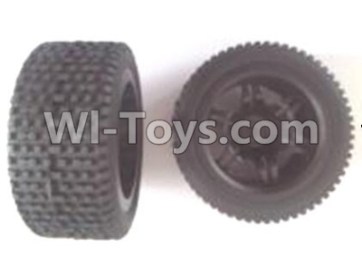 Wltoys 12404 Rear wheel unit Parts-(2pcs),Wltoys 12404 Parts