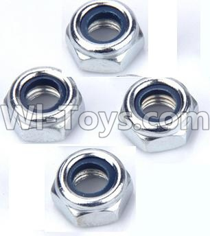 Wltoys 12404 0119 M4 Locknut Parts-(4pcs),Wltoys 12404 Parts