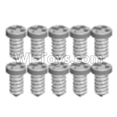 Wltoys 12404 0243 Pan head screws(8PCS)-M1.6X6,Wltoys 12404 Parts