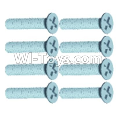 Wltoys 12404 0244 Countersunk head screws(8PCS)-M2X10,Wltoys 12404 Parts