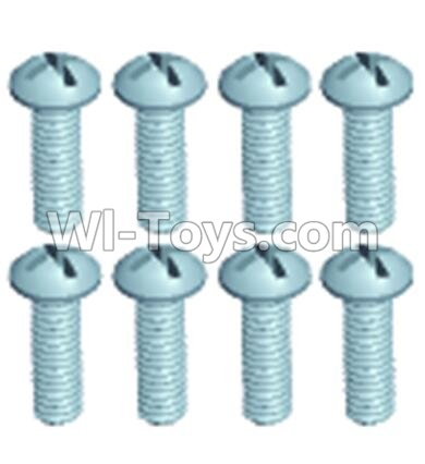 Wltoys 12404 0245 Pan head screws(8PCS)-M2.5X6,Wltoys 12404 Parts