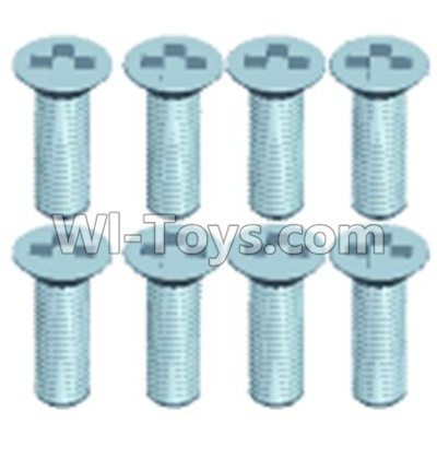 Wltoys 12404 0246 Countersunk head screws(8PCS)-M2.5X6,Wltoys 12404 Parts