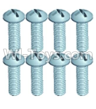Wltoys 12404 0250 Pan head screws(8PCS)-M2.6X8,Wltoys 12404 Parts